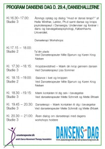 program Dansens Dag 2016